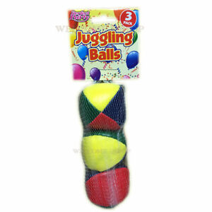 Learn to Juggle Set of 3 x Coloured Juggling Balls