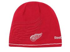 NWT Reebok Detroit Red Wings Reversible beanie SHARP LID! Hat LAST ONES!