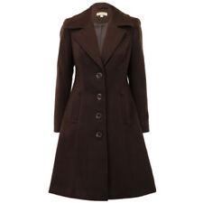 Abrigos y chaquetas de mujer de color principal marrón de poliamida