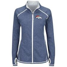 DENVER BRONCOS Majestic Women's Club Pass Full Zip Jacket M NWT