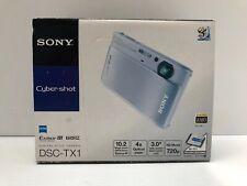 Sony CyberShot DCS-TX1 Silver with Box New Open Box