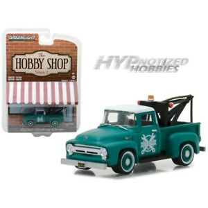 GREENLIGHT 1:64 1956 FORD F-100 W/ DROP-IN TOW HOOK 97020-A