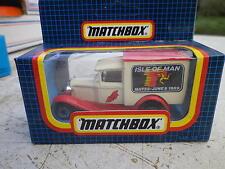 MATCHBOX MB38 FORD A ISLE OF MAN 1989 Neuf boite jamais ouverte scellée