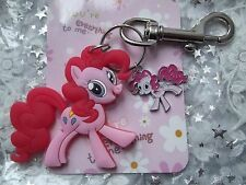 PINKY PIE MY LITTLE PONY STRONG KEY RING CLASP  GIFT BAG BIRTHDAY PARTY MAGIC