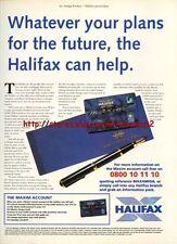 "Halifax ""The Maxim Account"" 1995 Magazine Advert #5802"