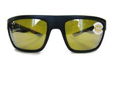 Costa Del Mar Motu Sunglasses 580P Blackout Frame W/ Silver Sunrise Lens