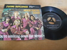 """7"""" Pop Flying Dutchman - When You're Down (2 Song) BLACKFIELD PROD signed"""