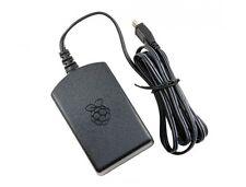 Official RPi 3 Black UK/ EU Power Supply 5.1V 2.5A