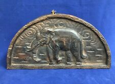 *Antique African, Asia Opium Scales Hand Carved Elephant Box Without Weights*