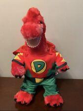Bab Build A Bear Workshop Red Brachiosaurus Dinosaur + Super Dino