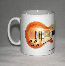 Guitar Mug. Henry McCullough's Gibson Les Paul Goldtop Guitar illustration.