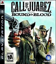 Call of Juarez: Bound in Blood (Sony PlayStation 3, 2009) Complete Game - Tested