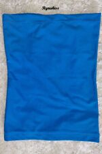 ♥ NEW F. Banquet Sexy Blue Smooth Durable Tube Top - XS