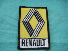 "Vintage Renault Of France Auto Sew On Patch 2 1/2"" X 3 5/8"""