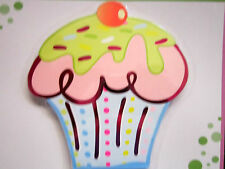 """Cupcake Shaped Fun Notebook 50 Pages 5"""" x 5"""" Packaged Brand New!"""
