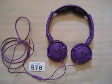 Skullcandy Lowrider Headphones Purple / Black skull candy low rider gc #1