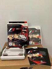 F1 - Wii Formula 1 Game 2009 - Boxed - Nintendo Wii Game + Racing Wheel