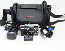 Olympus Pen E-PL1 12.3MP Digital Camera Micro 4/3 Body Only and Items Shown