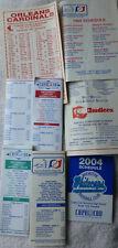 Cape Cod League pocket schedules