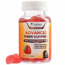 Adult Fiber Gummies Extra Strength 300mg Natural Daily Fiber Gummy Supplement