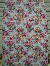Checkys Deals Roses White 18 X 48 Wide Top Replacement Ironing Board Cover & Pad