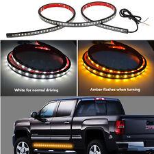Auto SUV Pickup Waterproof 120 SMD Dual Color LED Warning Light Body Side Light