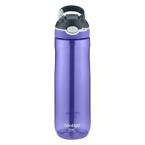 Contigo Ashland AutoSpout Straw Water Bottle 720ml Sports Leak-Proof - Grapevine