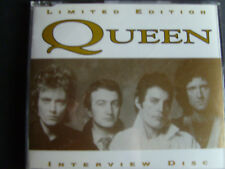 Queen   Interview Disc  Limited Edision Picture Disc CD von 1995