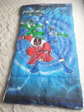 Power Rangers Time Force Child Sleeping Bag Saban 2001 28 x 55 Red Blue Green