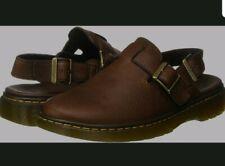NEW! Mens Dr Martens Jorge Rve Brown Slingback Lightweight Sandals UK 9.5 EU 44