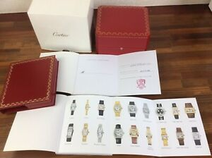 Cartier Watch Box CO 1018 + Booklets + Certificate + FREE SHIPPING