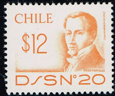 CHILE 1986 STAMP # 954 MNH D/S N° 20 PORTALES