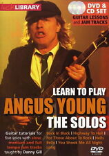 LEARN TO PLAY ANGUS YOUNG THE SOLOS LICK LIBRARY ACDC TUTORIAL TUITIONAL DVD