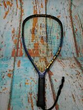 "E-Force Chaos racquetball racquet 22"" long string technology 4"" Grip"