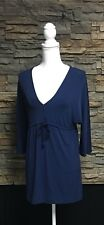 Tommy Bahama Knit Empire Top Shirt Polyester Spandex Beach Casual Small 4/6 NWT