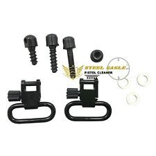 """Detach for 1"""" Sling Swivels&Studs silver Hunting Accessories Sets Quick Detachab"""