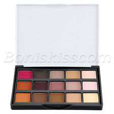 15 Colors Pro Eyeshadow Eye Shadow Shimmer Matte Cosmetic Makeup Palette Set Kit
