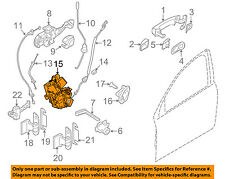 VOLVO OEM 10-16 XC60 Front Door-Lock Actuator Motor 31253661