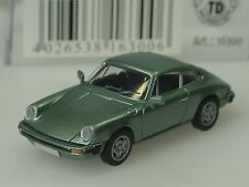 Brekina Porsche 911 Coupe, G-Modell 1976, lindgrün metallic - 16300 - 1:87