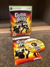 Microsoft Xbox 360 Guitar Hero World Tour PAL en muy buena condición