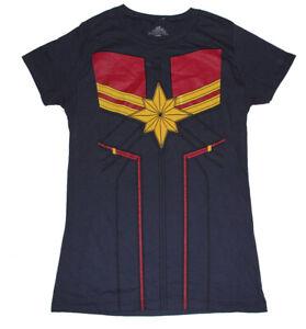 Marvel Captain Marvel womens Ladies tee shirt
