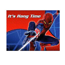 SPIDERMAN PARTY Amazing Spiderman Invitations It's Hang Time Pack of 8 Free Post