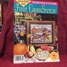 Just Cross Stitch Magazine Quick-Finish Gifts Cross Stitch Projects June 1993
