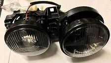 Projector Headlights Pair HELLA DARK style Headlight Lights Smoke Smoked Black