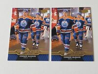 2015-16 Upper Deck Connor McDavid #CM-11 Rookie Card Lot of 2 Oilers