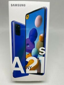 NEW SAMSUNG GALAXY A21s SM-A217F/DS DS Factory Unlocked Dual Sim 32GB BLUE NEW