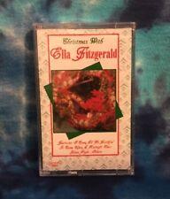 Ella Fitzgerald CASSETTE TAPE Christmas STILL FACTORY SEALED Cema (1991)