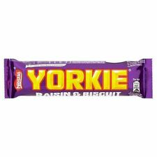 Nestle Yorkie Raisin & Biscuit - 53g - Pack of 3 (53g x 3 Bars) (1.87 oz  x  3)