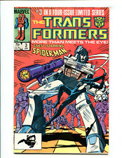 Transformers (1984 Marvel) 1st Print #3 / 6.0 FN LOOK!!!
