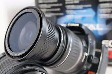 Ultra Wide Angle Macro Fisheye Lens for Canon Eos Digital Rebel sl1 & 18-55 stm